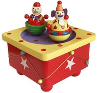 Fun Factory: Musical Box Dancing Clowns