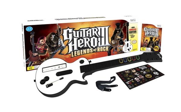 Guitar Hero III: Legends of Rock Bundle for Nintendo Wii