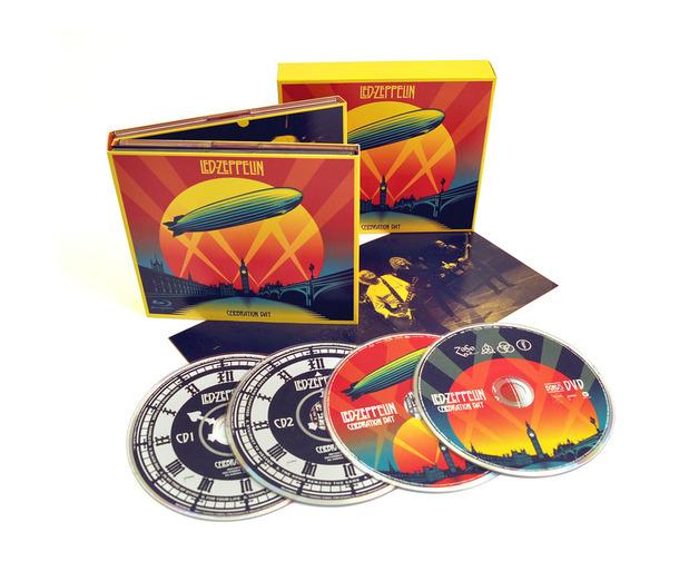 Celebration Day (2CD+Blu-ray) by Led Zeppelin