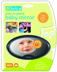 Brica Stay in Place Baby Mirror image