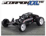 Kyosho EP RS Scorpion XXL VE RC 1/7 Buggy Readyset (Black)