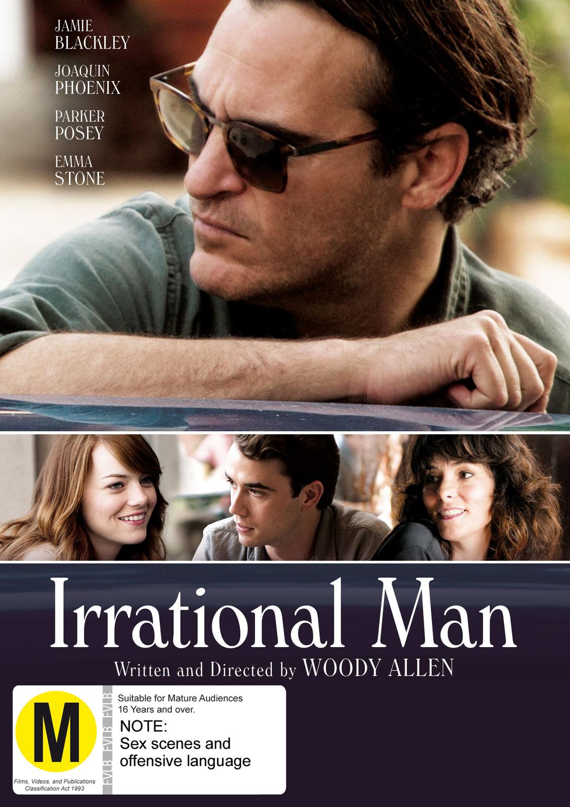 Irrational Man on DVD image