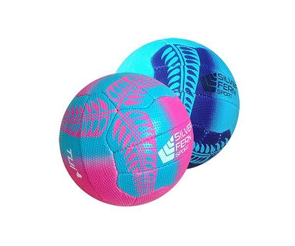 Silver Fern Tui Netball - Pink (Size 4)
