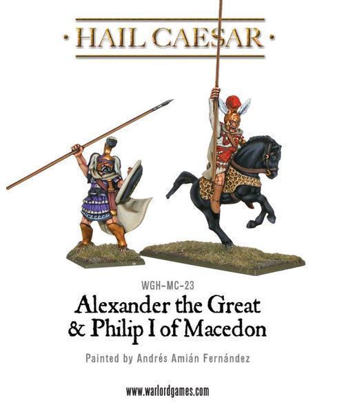 Hail Caesar: Alexander the Great & Philip I of Macedon