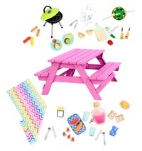 Our Generation: Picnic Table - Accessory Set