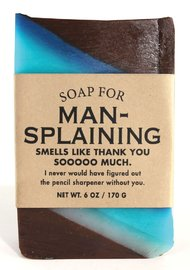 Whiskey River Co: Soap - Mansplaining