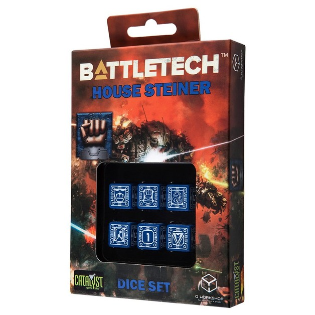BattleTech: House Steiner Dice