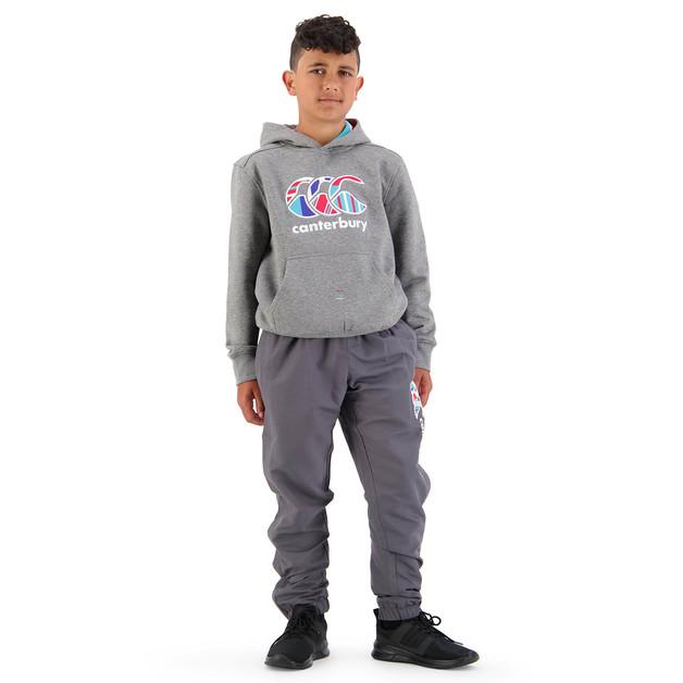 Canterbury: Boys Uglies Tapered Cuff Stadium Pant - Blackened Pearl (Size 16)