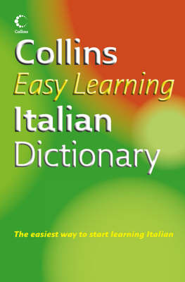 Collins Easy Learning Italian Dictionary image