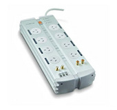 Belkin PureAV Series 8-Way Isolator (3m Cord) + TEL + AV  + F-Type