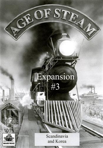 Age of Steam: Scandanavia & Korea Expansion #3