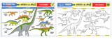 Melissa & Doug: Dinosaurs Colour-a-Mat