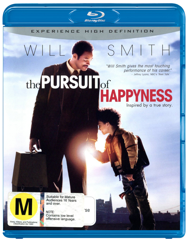 The Pursuit Of Happyness on Blu-ray