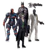 Batman Arkham Origins Action Figure Set (4 Pack)