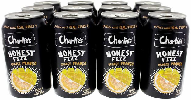 Charlie's Honest Fizz- Orange Mango (320ml)