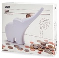 Monkey Business: Elli Rolling Coins Bank - White