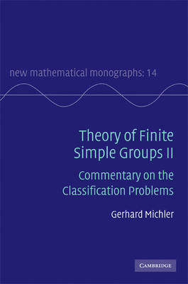 New Mathematical Monographs: Series Number 14 by Gerhard Michler image