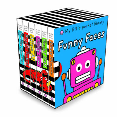 Funny Faces: My Little Pocket Library by Roger Priddy image