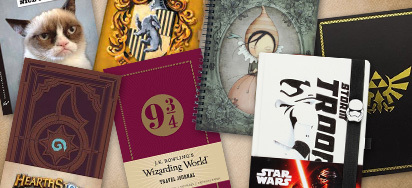 Up to 20% off Pop Culture Journals & Notebooks
