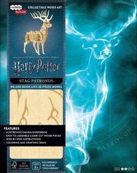 IncrediBuilds: Harry Potter: Stag Patronus Deluxe Book and Model Set by Jody Revenson image