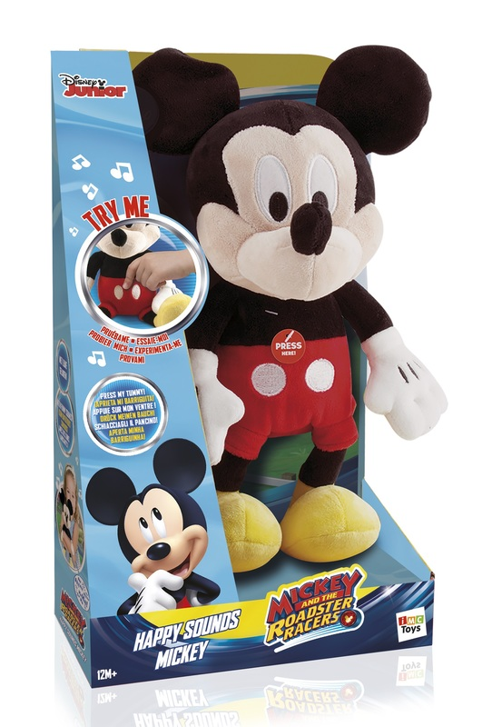 Disney: Happy Sounds Mickey - Soft Toy