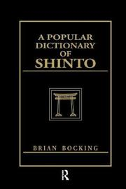 A Popular Dictionary of Shinto by Brian Bocking image