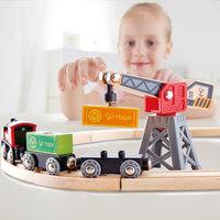 Hape: Cargo Delivery Loop - Wooden Railway Set image