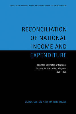 Reconciliation of National Income and Expenditure by James Sefton image