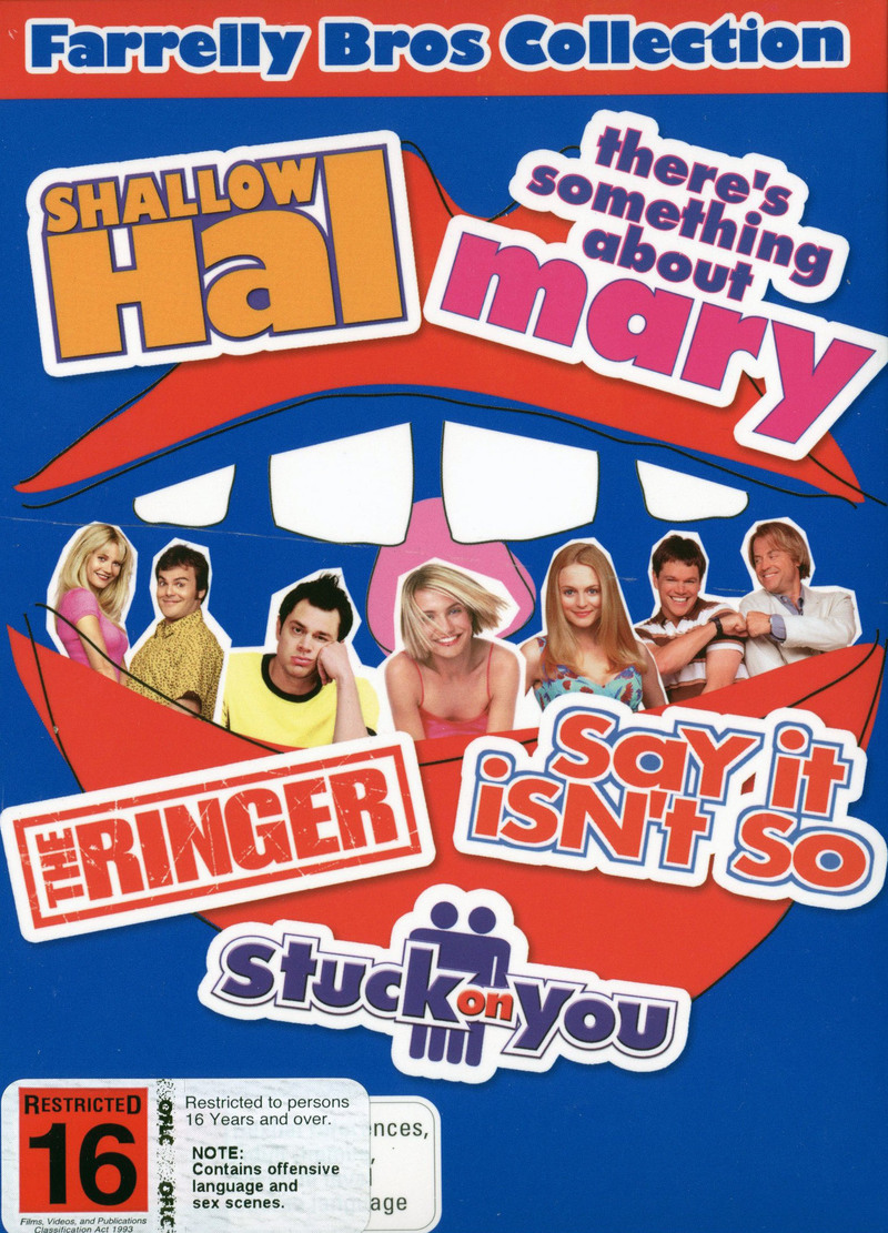 Farrelly Bros Collection (5 Disc Box Set) on DVD image