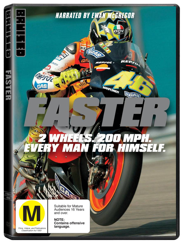 Faster - Bruised Edition on DVD
