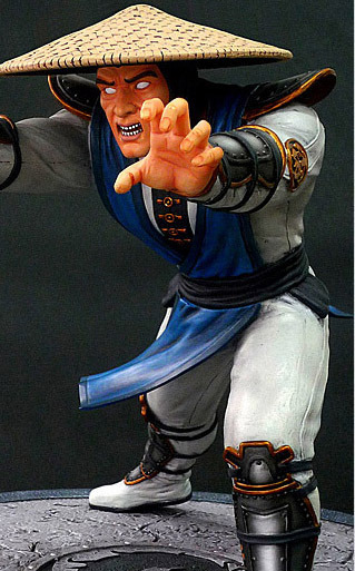 Mortal Kombat 10'' Resin Statue - Raiden