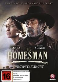The Homesman on DVD image