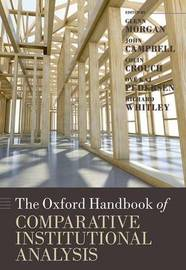 The Oxford Handbook of Comparative Institutional Analysis image