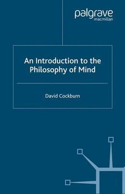 An Introduction to the Philosophy of Mind by David Cockburn image
