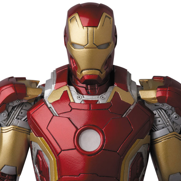 Marvel: MAFEX Iron Man Mark 43 - Articulated Figure | at Mighty Ape NZ