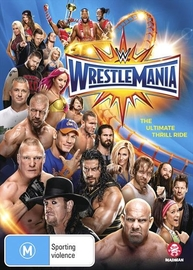 WWE: Wrestlemania XXXIII on DVD