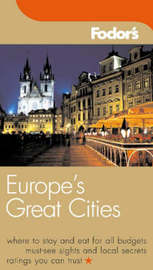 Europe's Great Cities by Fodor's image