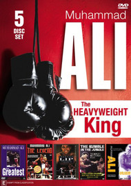Muhammad Ali - The Heavyweight King (5 Disc Box Set) DVD image