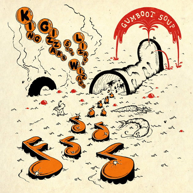 Gumboot Soup (LP) by King Gizzard & The Lizard Wizard