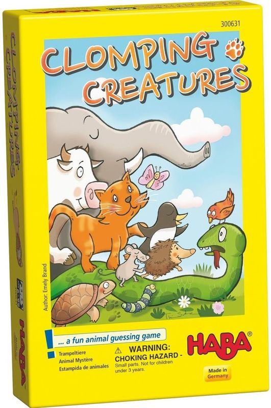Clomping Creatures - Children's Game