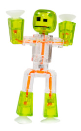 Stikbot: Single Pack - Light Green/Clear