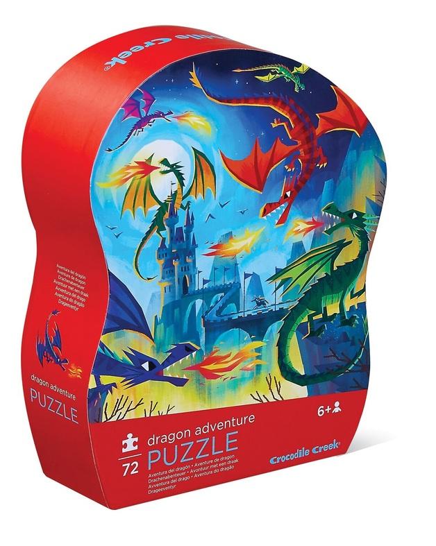 Crocodile Creek: Shaped Box Puzzle - Dragon Adventure