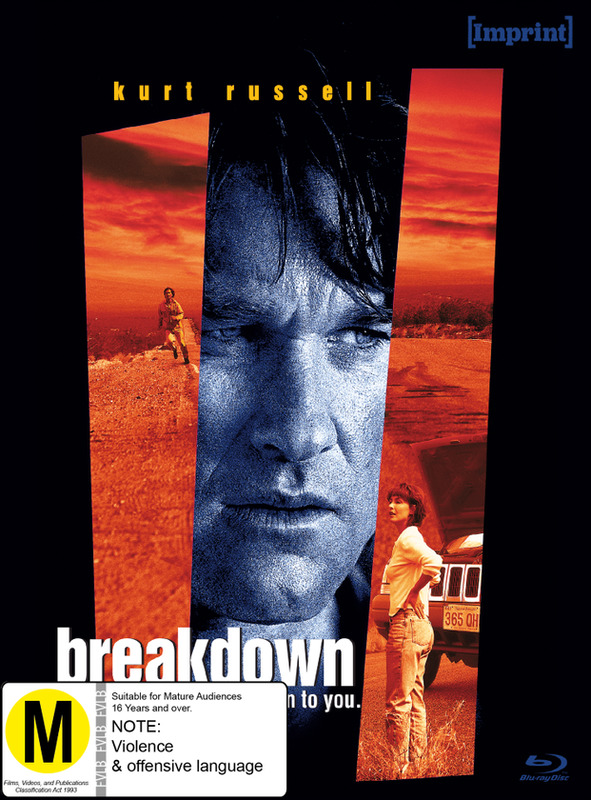 Breakdown (Imprint Collection # 9) on Blu-ray