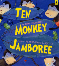 Ten Monkey Jamboree by Diane Ochiltree image