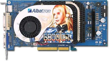 Albatron Video Card PC6800GT 256MB DDR TV OUT PCIE