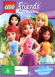 LEGO Friends on DVD
