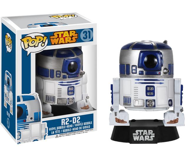 Star Wars - R2-D2 Pop! Vinyl Bobble Head Figure