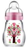 MAM Feel Good Glass Bottle 170ml - Pink
