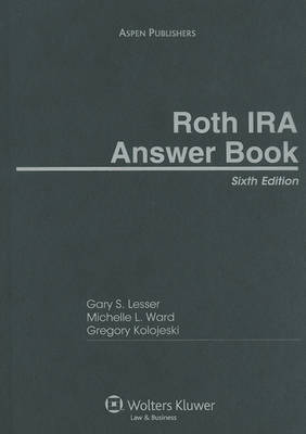 Roth IRA Answer Book by Gary S Lesser, J.D. image