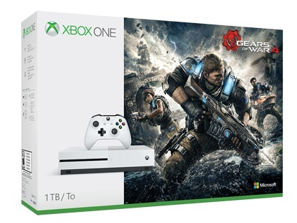 Xbox One S 1TB Gears of War 4 Console Bundle for Xbox One image